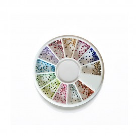 ROUE 1200 MICROS STRASS MULTICOULEURS