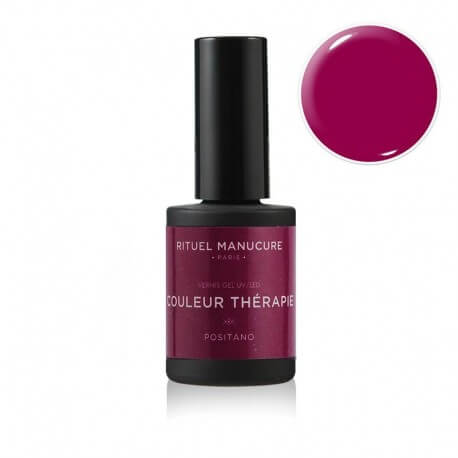 POSITANO - VERNIS PERMANENT 15ML - Rouge profond, intense